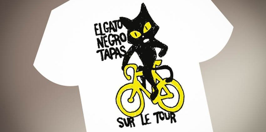 El Gato Negro Tour de France t-shirt