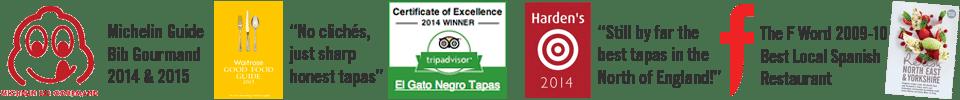 Current awards for El Gato Negro