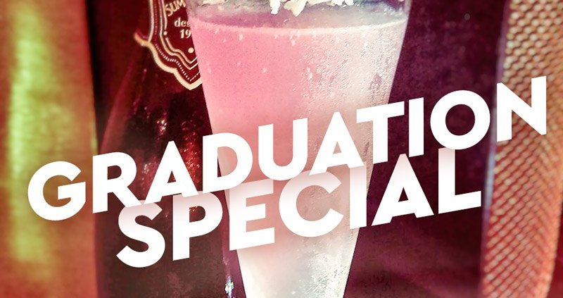 Graduation special at El Gato Negro