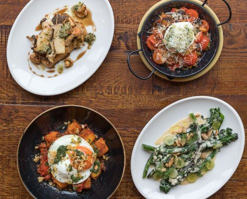 Sunday brunch specials at El Gato Negro