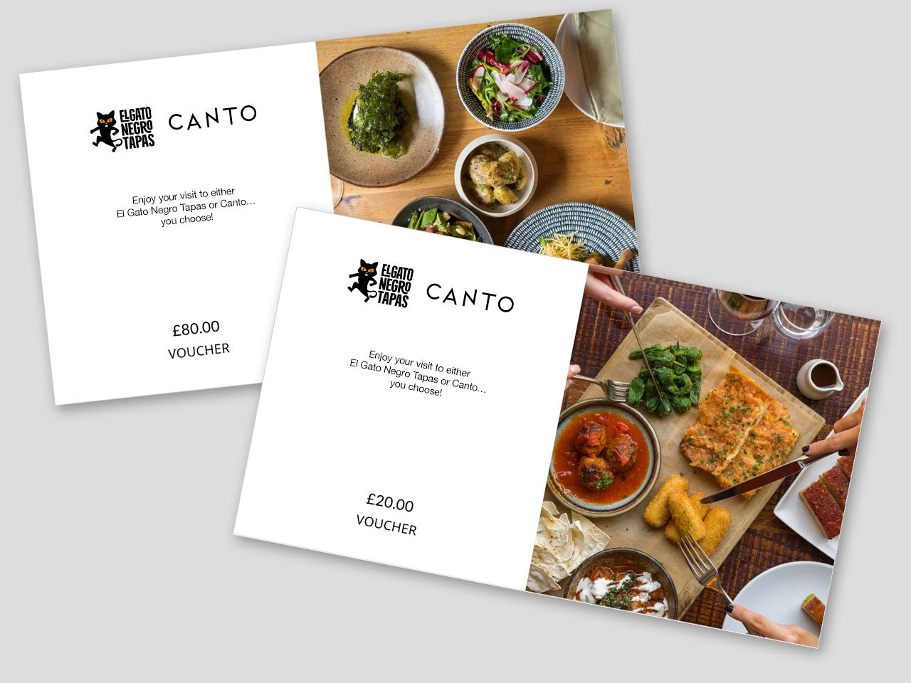 Gift cards at El Gato Negro