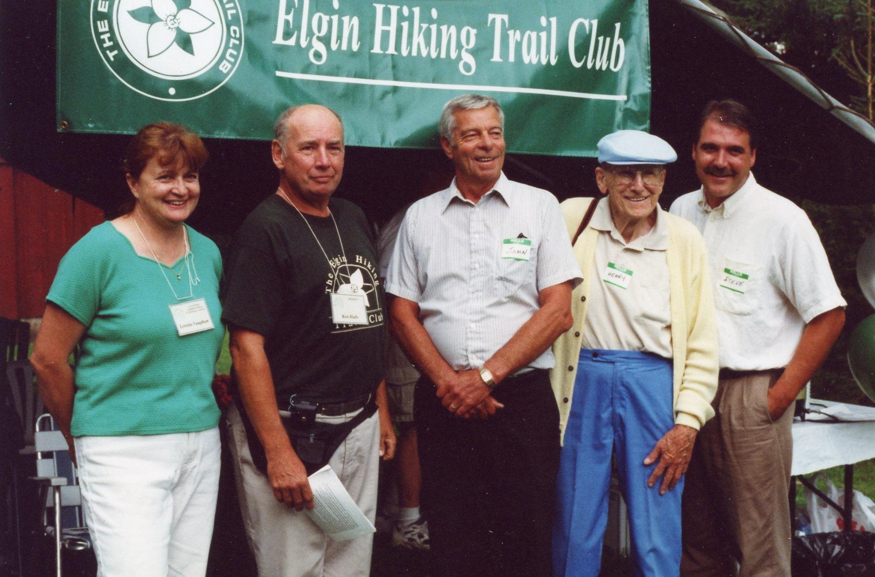 Loretta, Ken Hulls, John Wise, Henry, Steve Peters