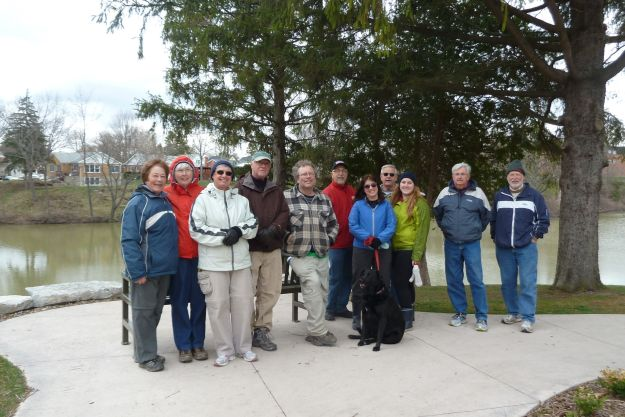 Earth Day walk around Lake Margaret and Pinafore Park.