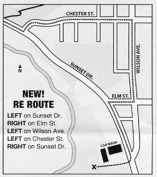 Map 8 reroute.