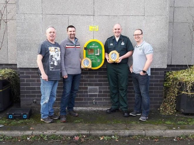 Something we will hopefully never need but grateful to Defibs for Moray for providing.…