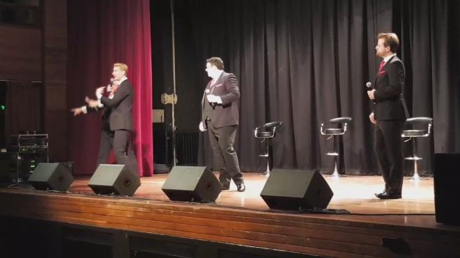 The Opera Boys live at Elgin Town Hall