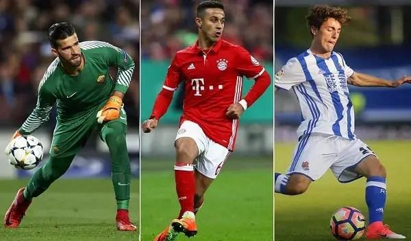 Alisson Thiago y Odriozola fichajes Madrid