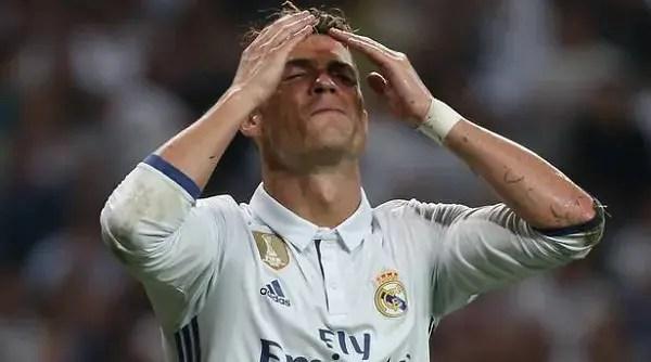 Ronaldo molesto