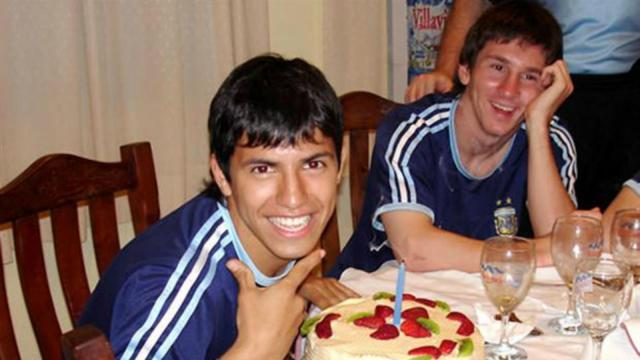 Agüero y Messi, una visa juntos.