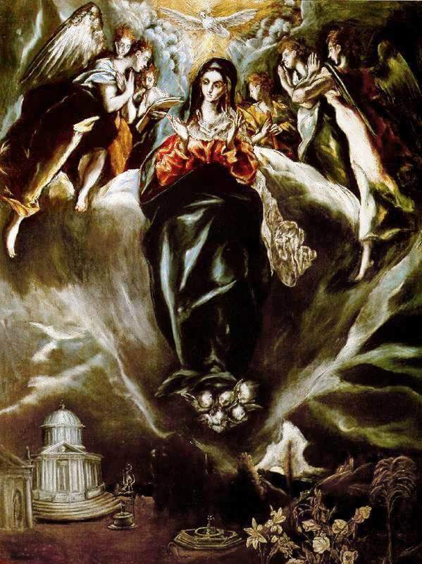 Image result for immaculate conception greco