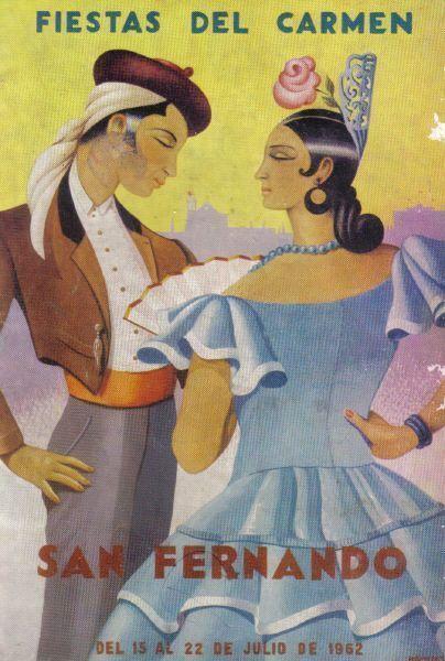 1962 Programa oficial Fiestas del Carmen.