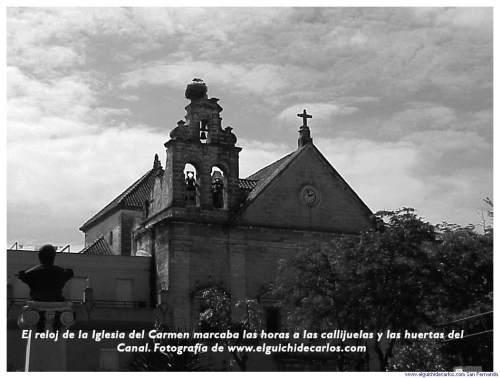 Relojes de San Fernando. Iglesia del Carmen