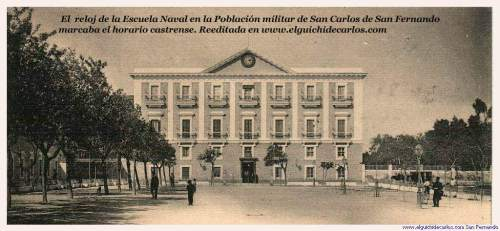 Relojes de San Fernando. Escuela Naval
