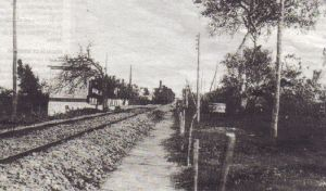 El ferrocarril al paso por San Fernando