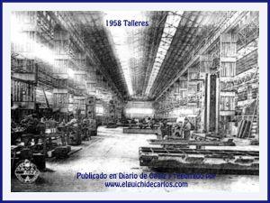 1958 vista de otro de los talleres de La constructora