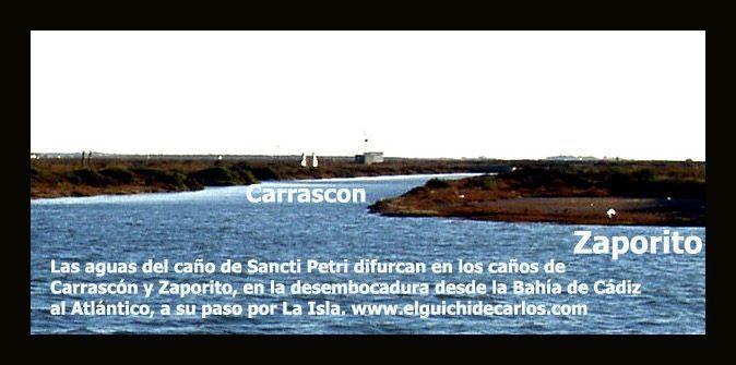 Caño del Carrascón. Aterramiento