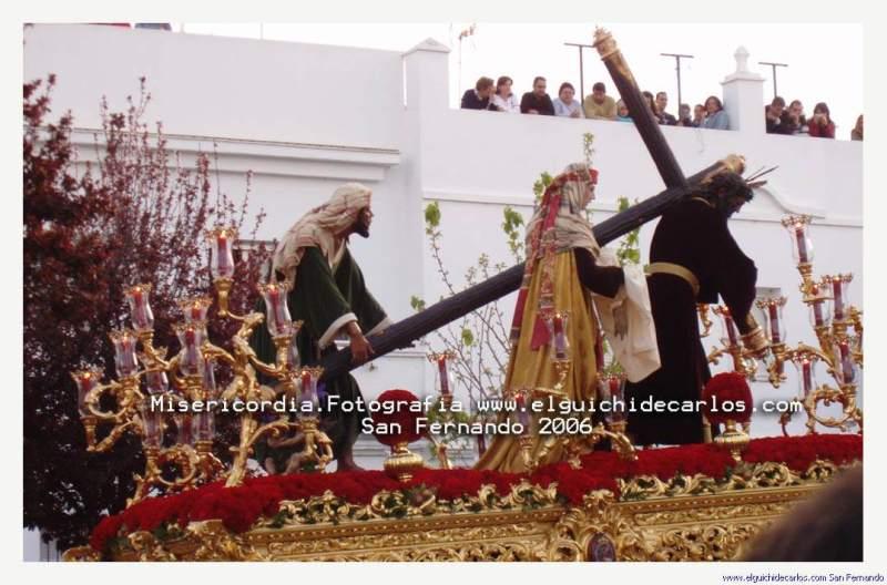 Paso de Cristo de la hernandad de la Misericordia San Fernando 2006