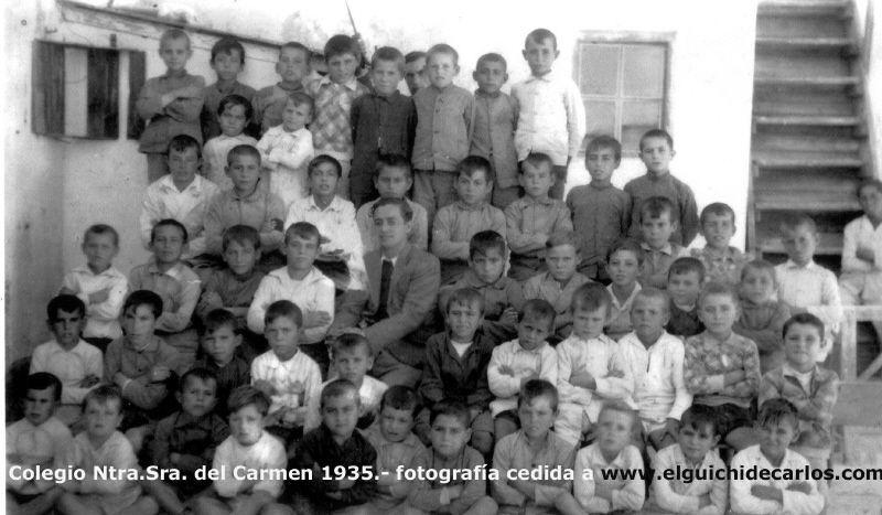 escuela ntra señora del Carmen de la calle San Onofre. San Fernando