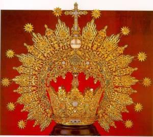 Corona de la Virgen del Carmen de san Fernando