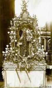 Paso de la Virgen del Carmen