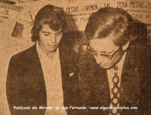 Camarón y E Montiel para el Mirador de San Fernado