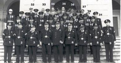Policía Municipal de San Fernando 1957