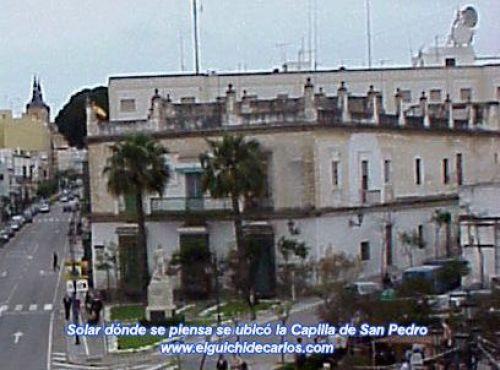 Cementerio - Capilla San Pedro. San Fernando