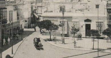 Plaza Iglesia años 20 del s XX
