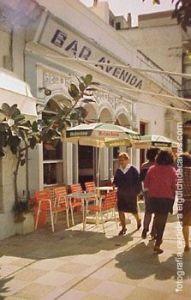 bar avenida en calle real san fernando