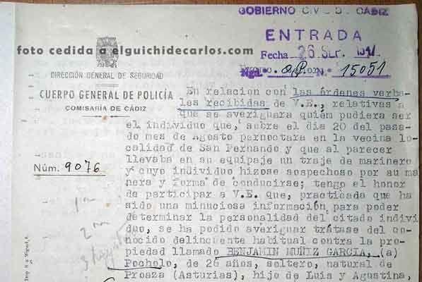 Parte detención presunto josé moreno 2