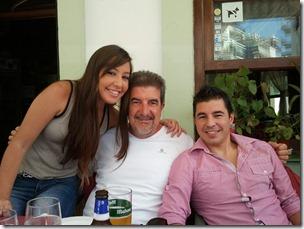 comida Riti con Cristina y Antonio