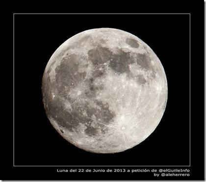 luna llena 22 junio 2013 by Alejandro Herrero