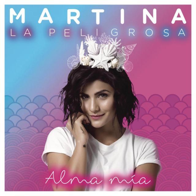 Portada del álbum debut de Martina La Peligrosa, Alma Mía.