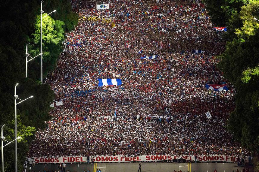 La fuerza de la Revolución cubana radica en la unidad y apoyo de su pueblo