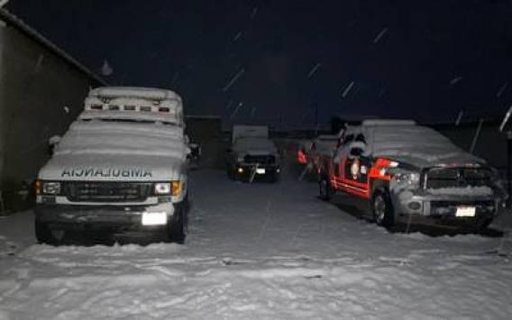 Reportan caída de nieve en 30 municipios de Chihuahua - El Heraldo de  Chihuahua