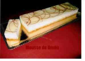 MOUSSE DE LIMON