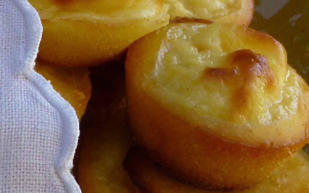 Mini Muffins de calabaza con naranja y crema de queso (….o algo parecido)