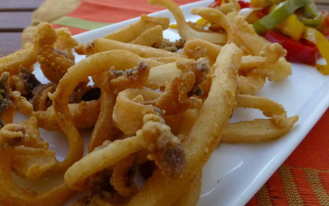 Una de chocos fritos ! Consejos para freír bien el pescaito frito.