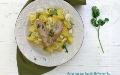 Aquí no hay verano sin Papas Aliñás. Hoy con ventresca de atún para Love my Salad