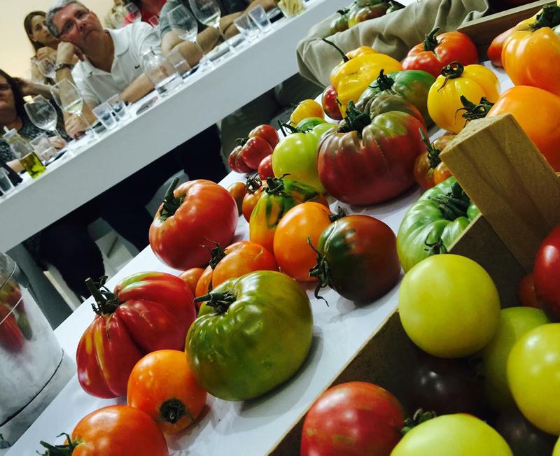 Así fue nuestra primera cata de tomates con sabor
