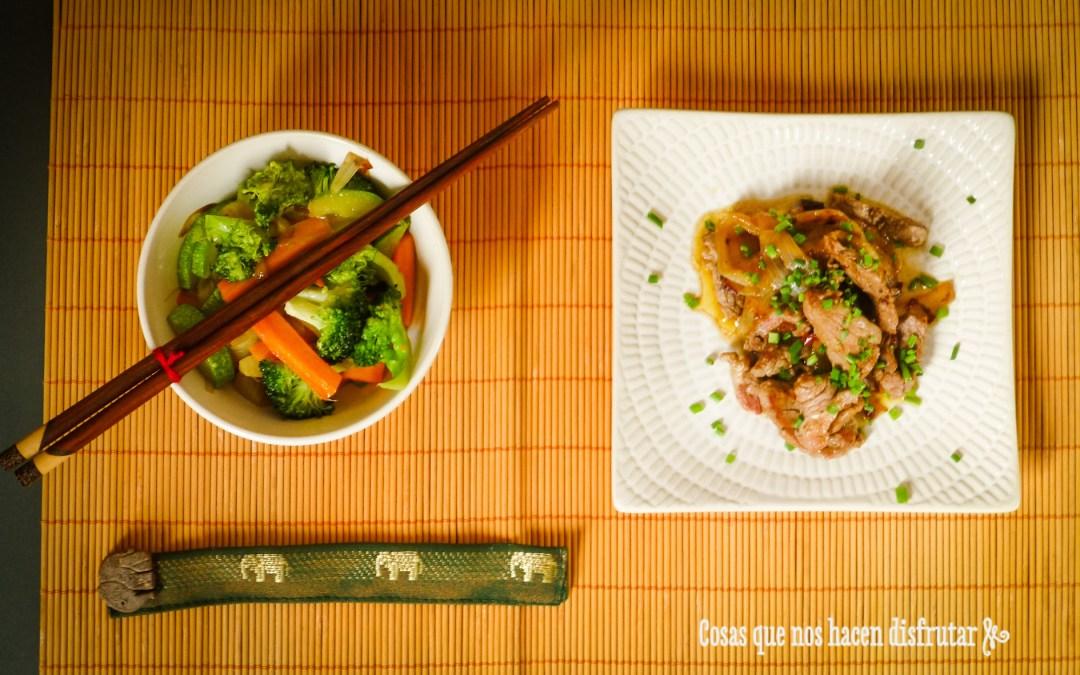 Receta Thai: Solomillo de ternera picante