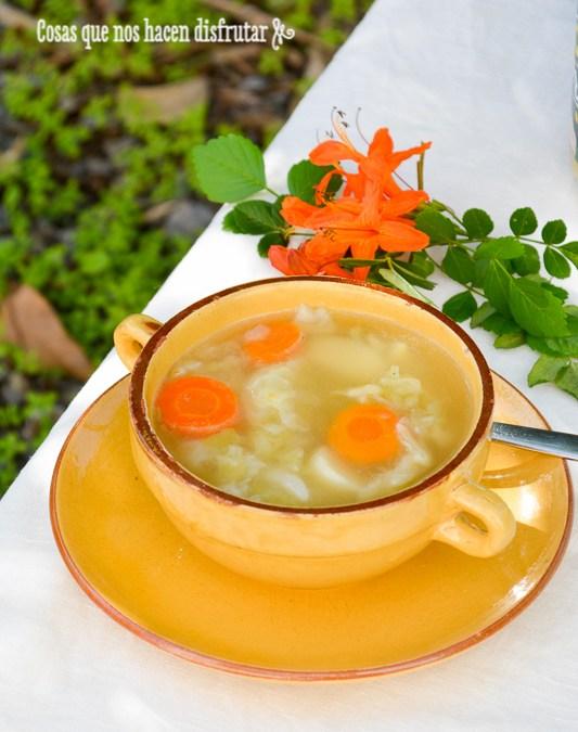 Sopa de verduras. Receta exprés y disfruta del día