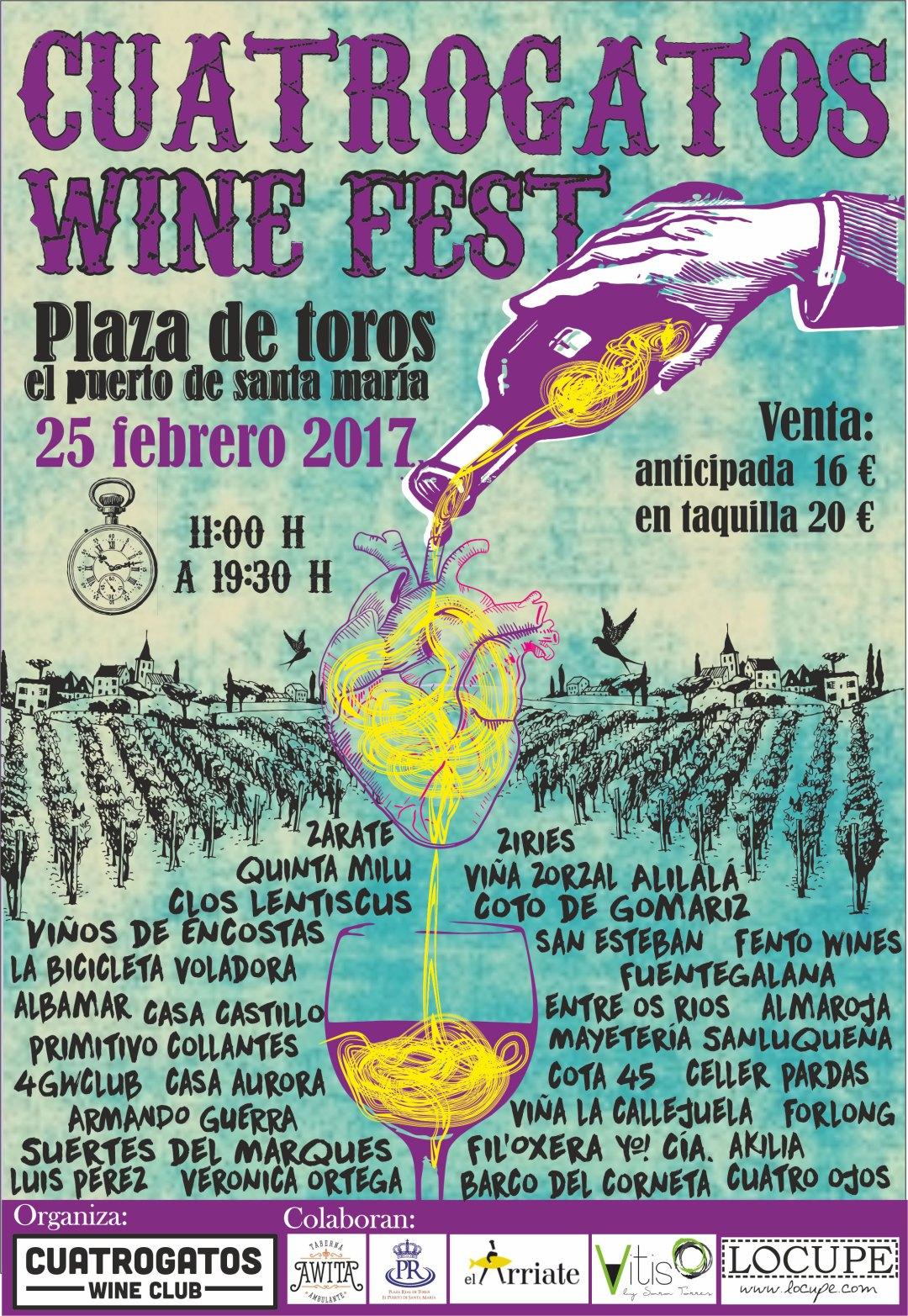 Cuatrogatos wine fest