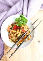 Noodles Chow Mein marineros