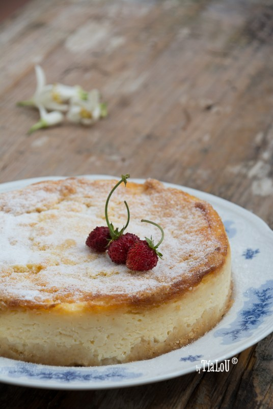 Cheesecake de mascarpone y limon by tia lou
