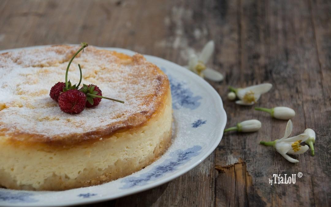 Cheesecake de mascarpone y limón