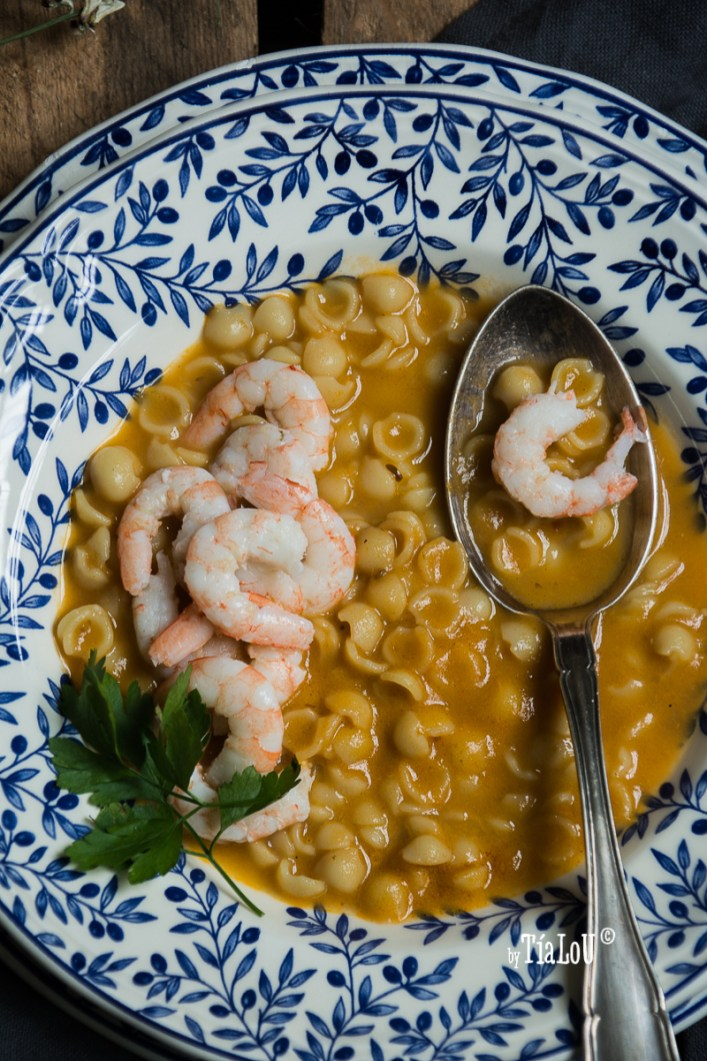 Sopa de gambas by tia lou-5