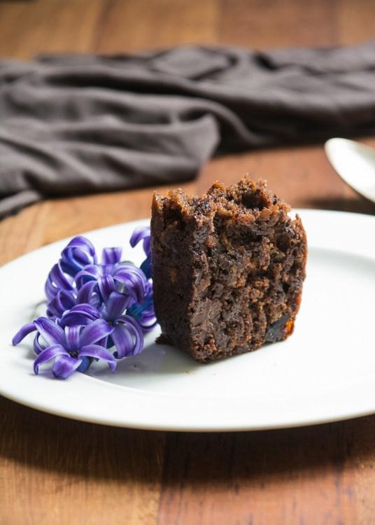 Pan de platano, chocolate y arandanos by tia lou