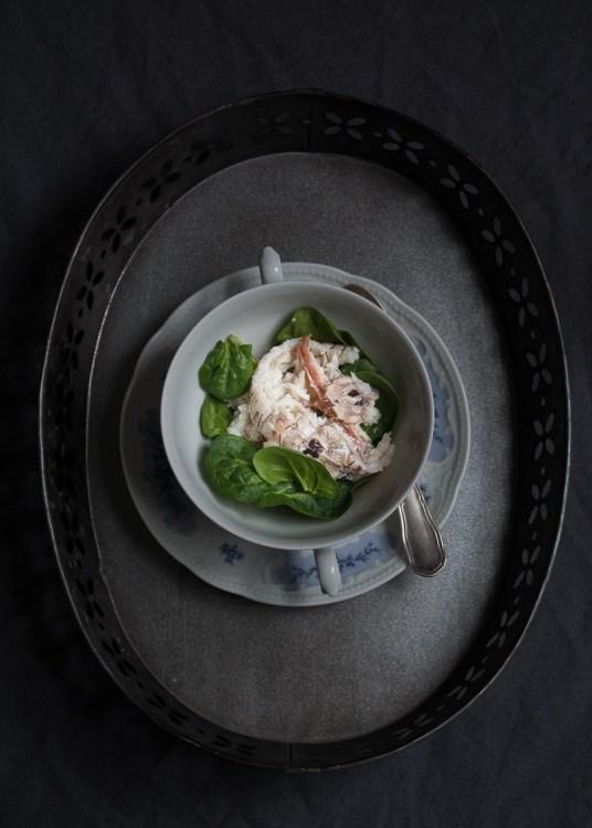 Sopa de Galeras y Espinacas by tia lou