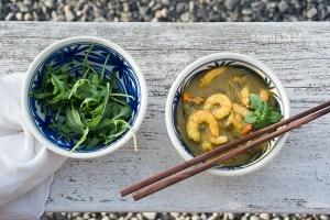 Curry de Gambas en Otoño